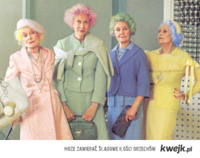 old ladies.
