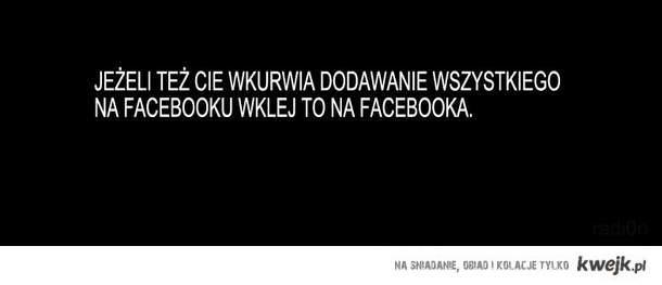 Dodawanie na facebooku