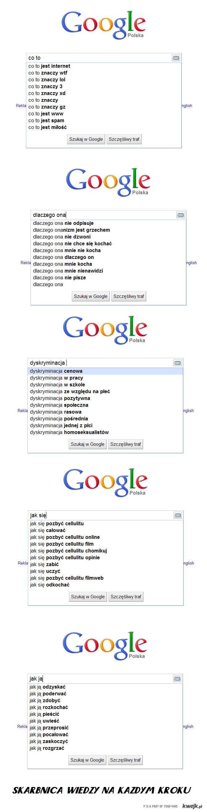 google skarbnica wiedzy