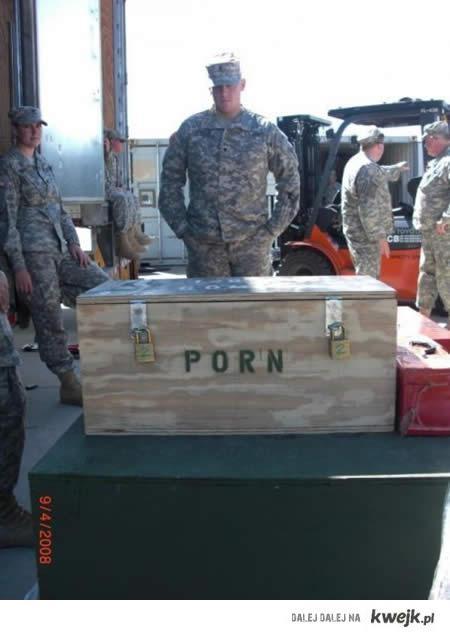 Dostawa dla wojska