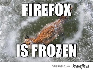 firefox is frozen