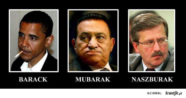 Barack, Mubarak, Burak