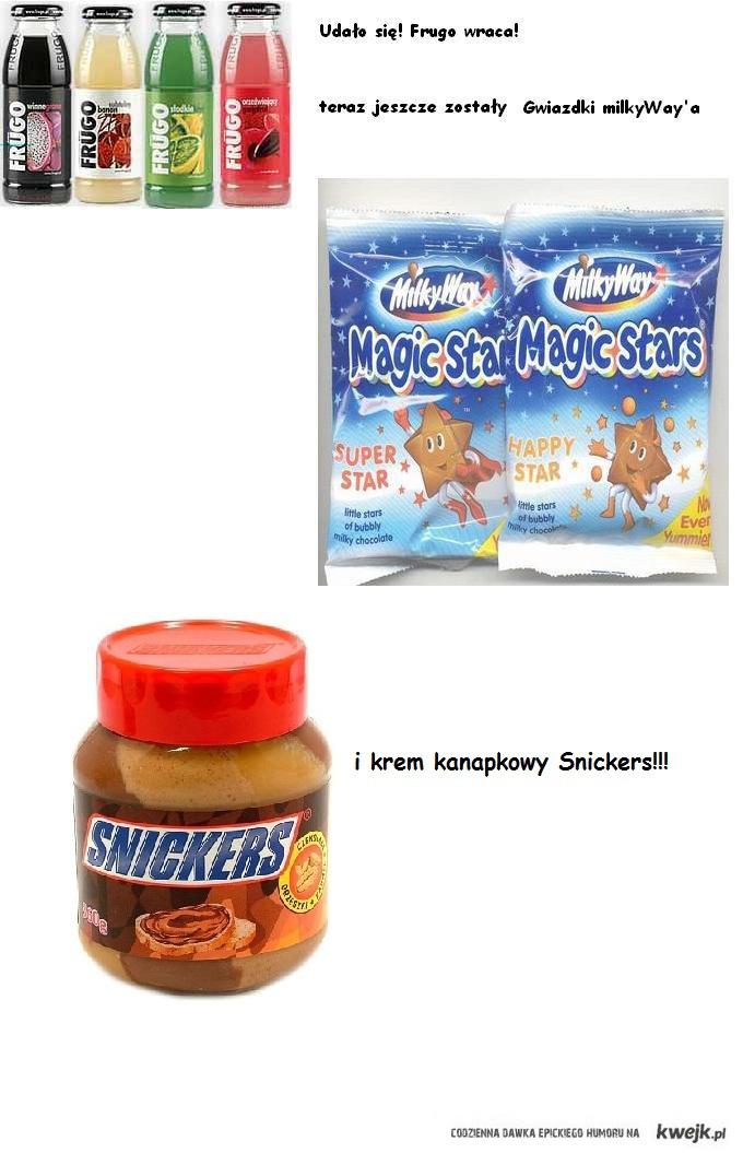 Krem Snickers