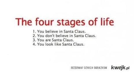 cztery etapy życia
