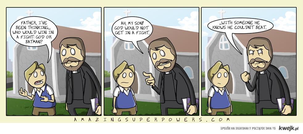 niepokonany Bóg