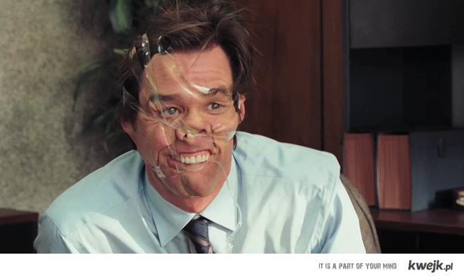 Jim Carey Face
