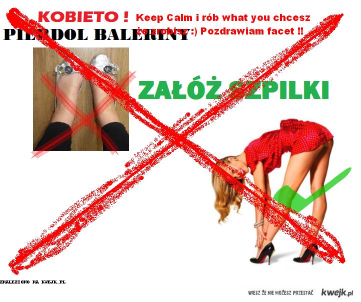 kobieto keep calm
