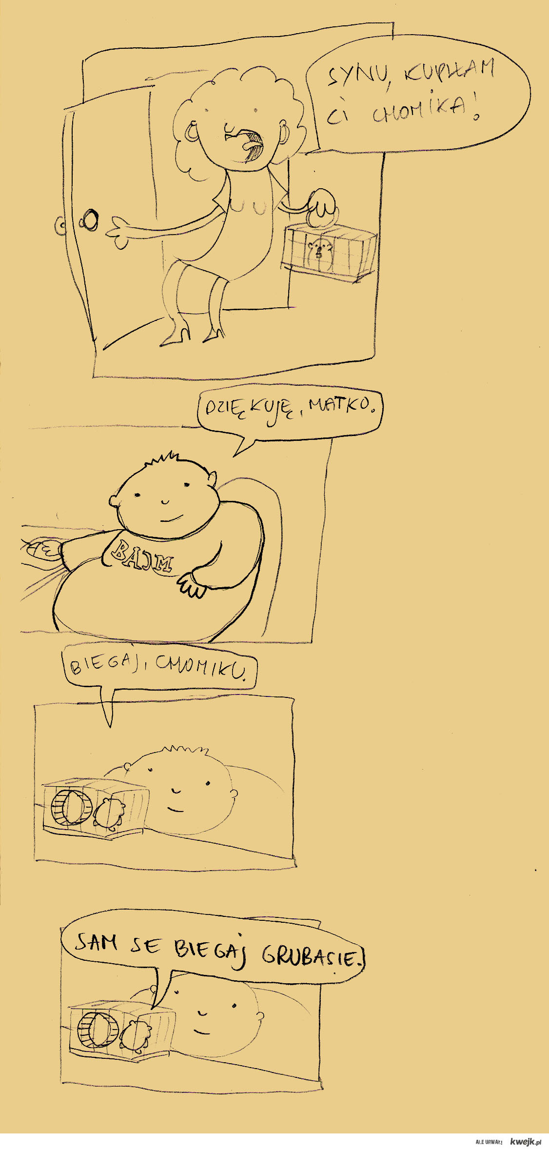 Chomik i gruby