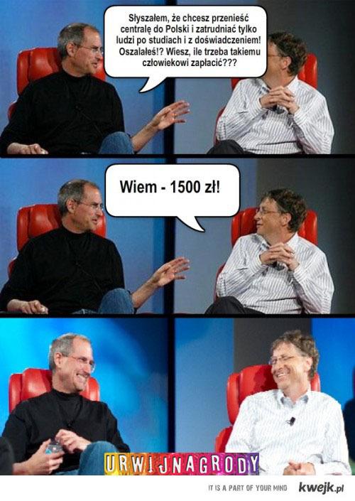 Rozmowa dwóch bogatych panów