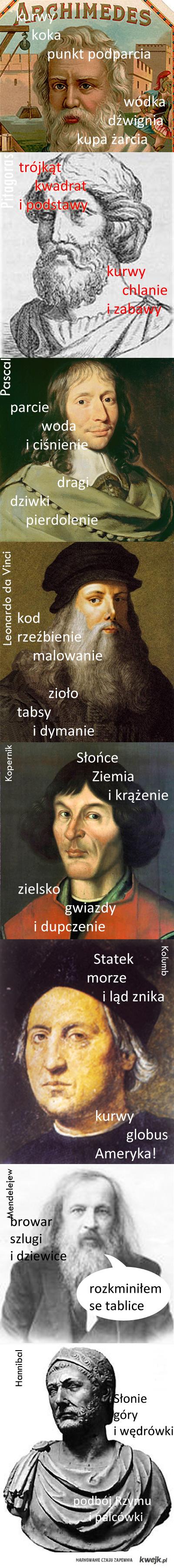 naukowcy, odkrywcy