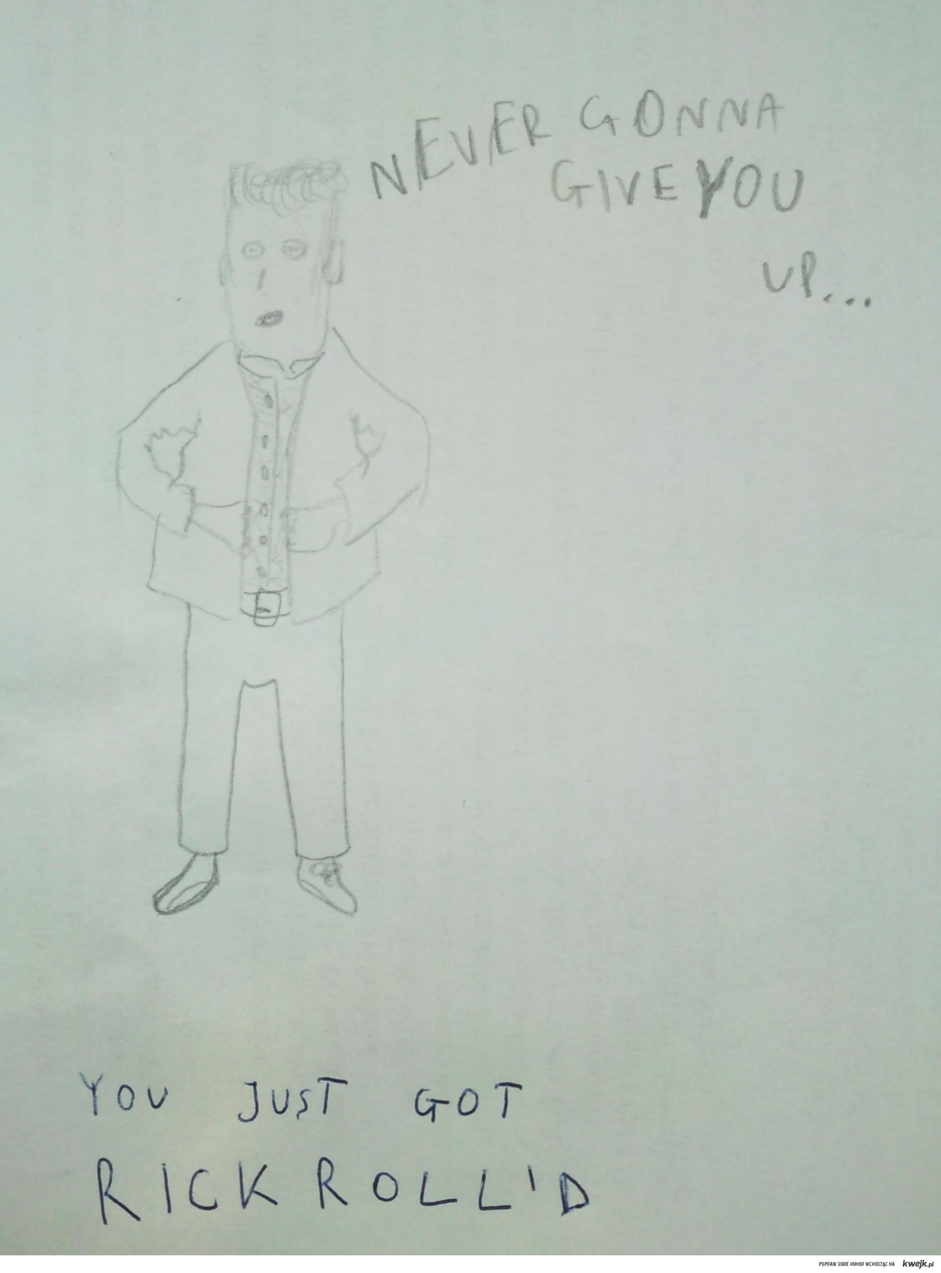 You just got Rickroll'd