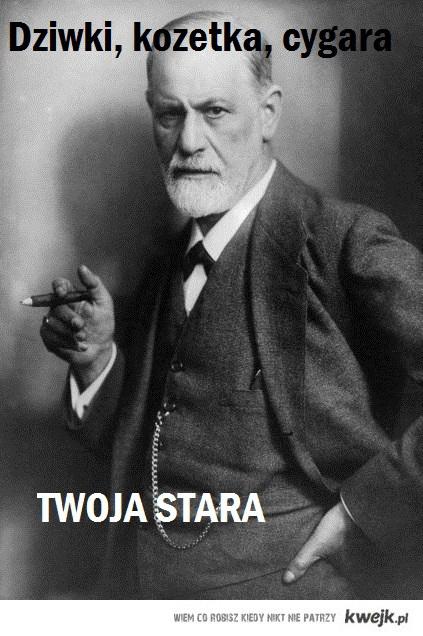 Freud wierszyk