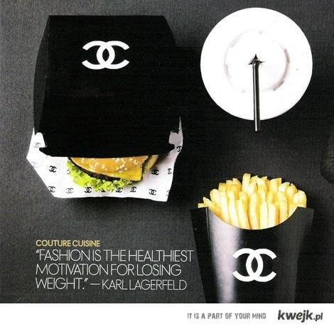 Chanel junk food