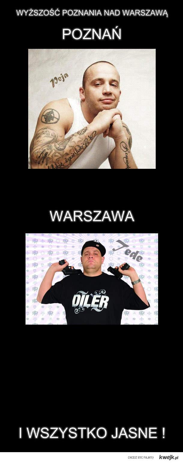 Poznan vs Warszawa