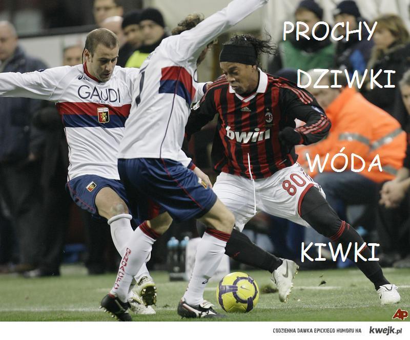 Ronaldinho w rymowance