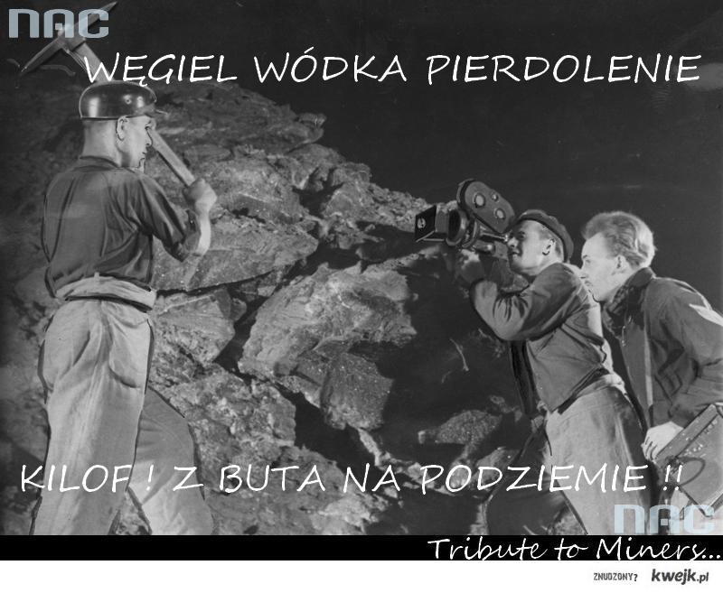 Hołd Górnikom