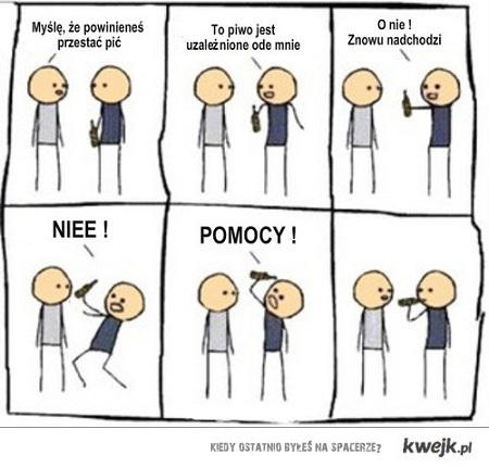 Cyanide and Happiness - Piwo