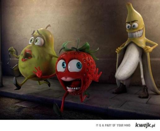 napalony banan