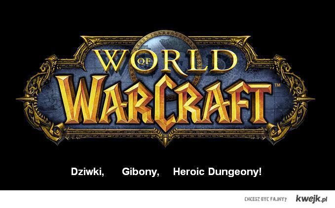 Dziwki, gibony, heroic dungeony!