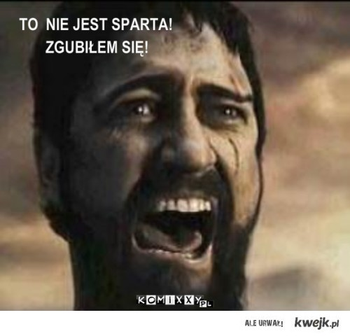 Zagubiony Spartan