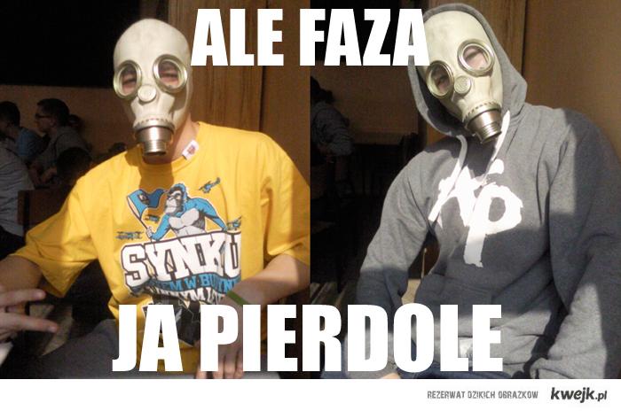 Maska Słoń i faza!