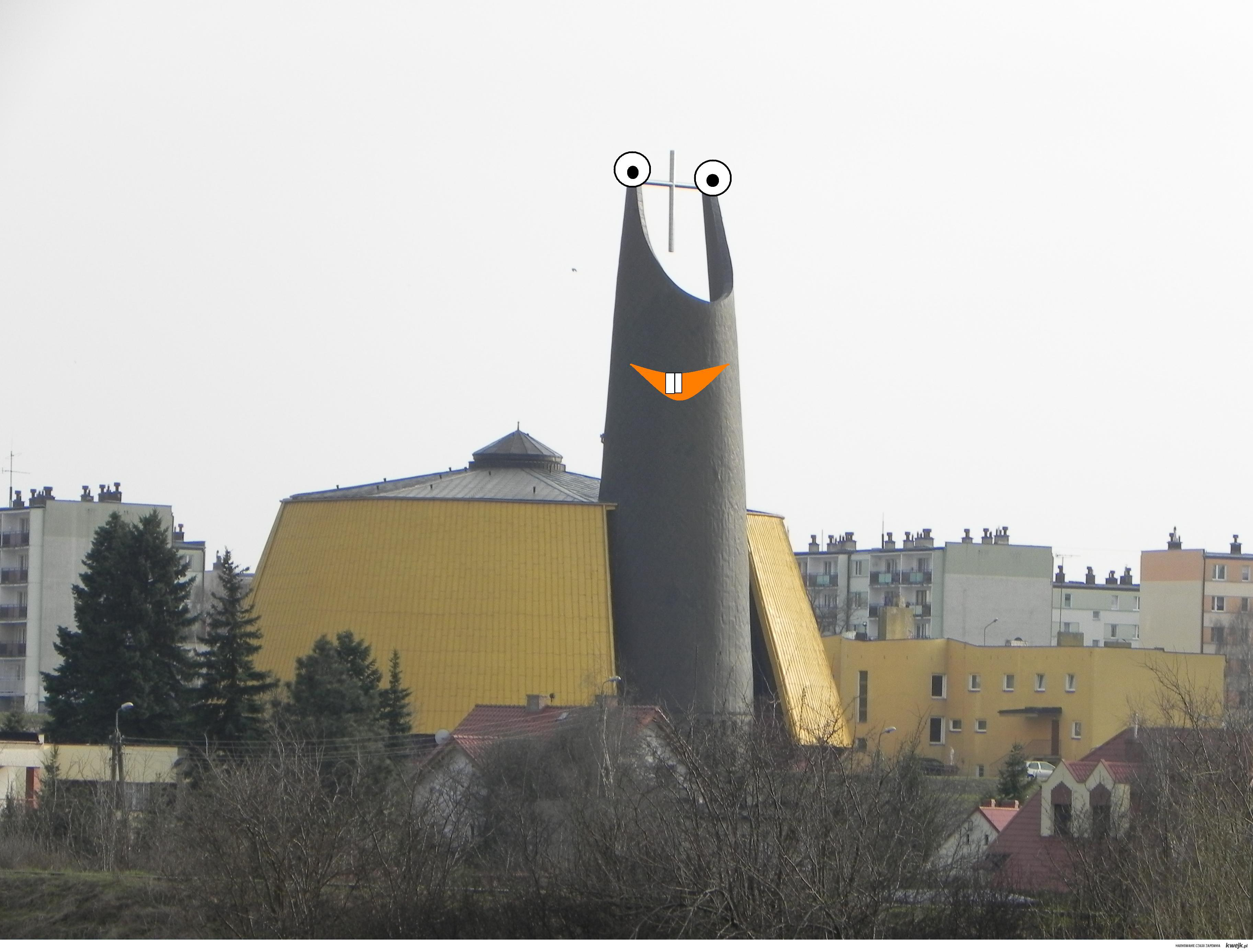 Kościół pod wezwaniem Najświętszego Ślimaka