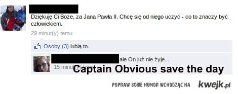 captain obvious strikes again!