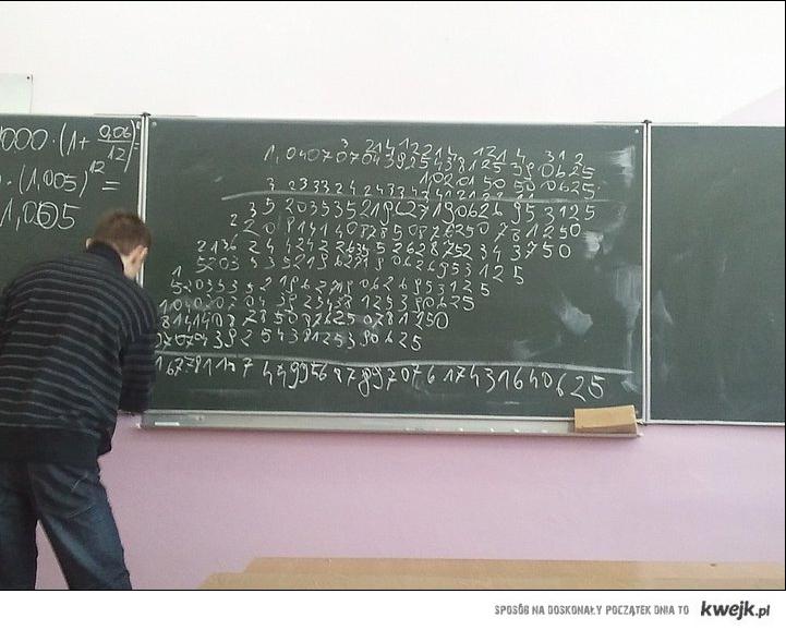 Kochana matematyka
