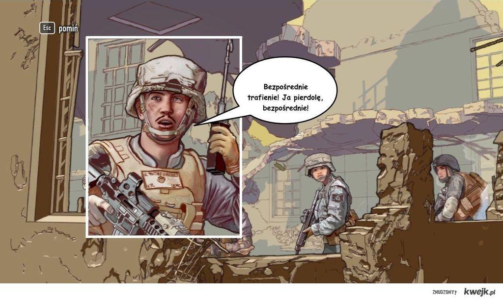 """Ujęcie z przerywnika gry """"Battle: Los Angeles"""""""