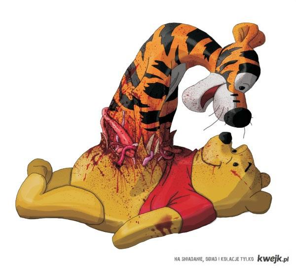 Nierozłączna para - Kubuś i Tygrysek