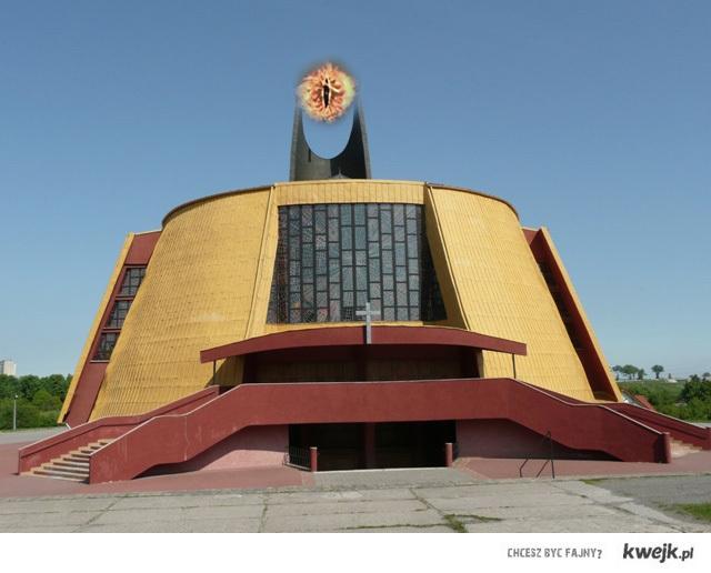 Kościół pod wezwaniem saurona