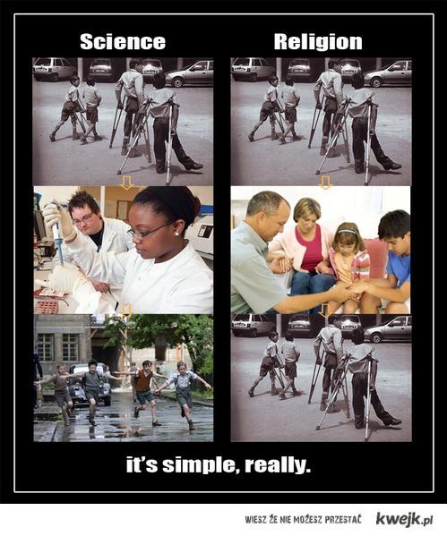Religia vs Nauka