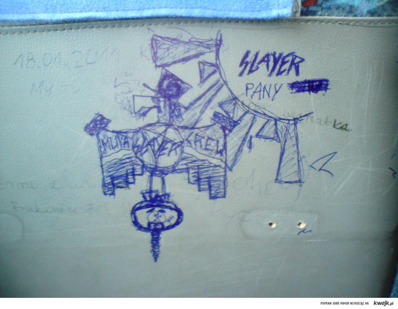 SLAYER Pany - autobus