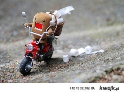 Na motorze...