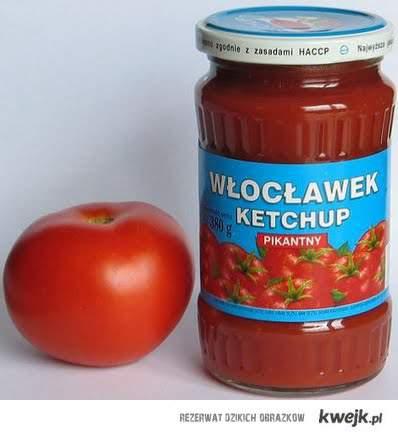 jestem z Włocławka, więc wiem co to keczup. Dziwko!