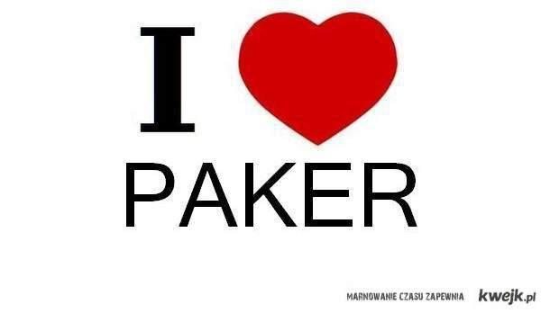 I LOVE PAKER