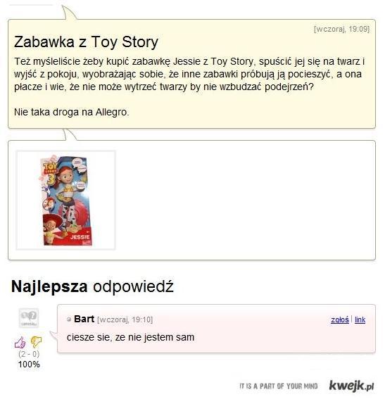Toy Story - Historia Prawdziwa
