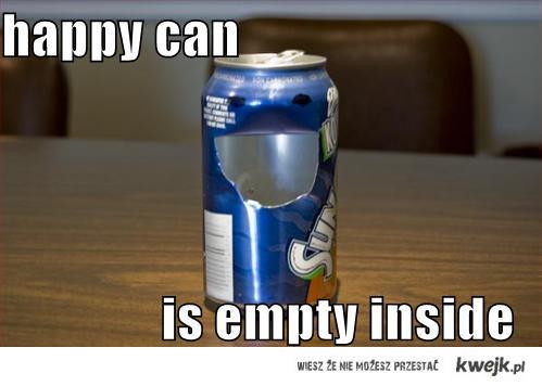 happy can