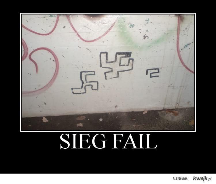 fail w rysowaniu swastyki