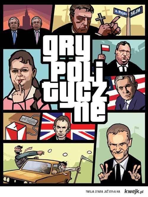 gry polityczne