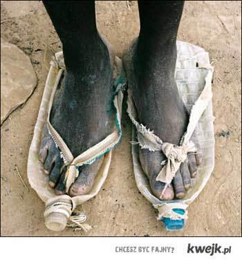 Afrykańskie buty
