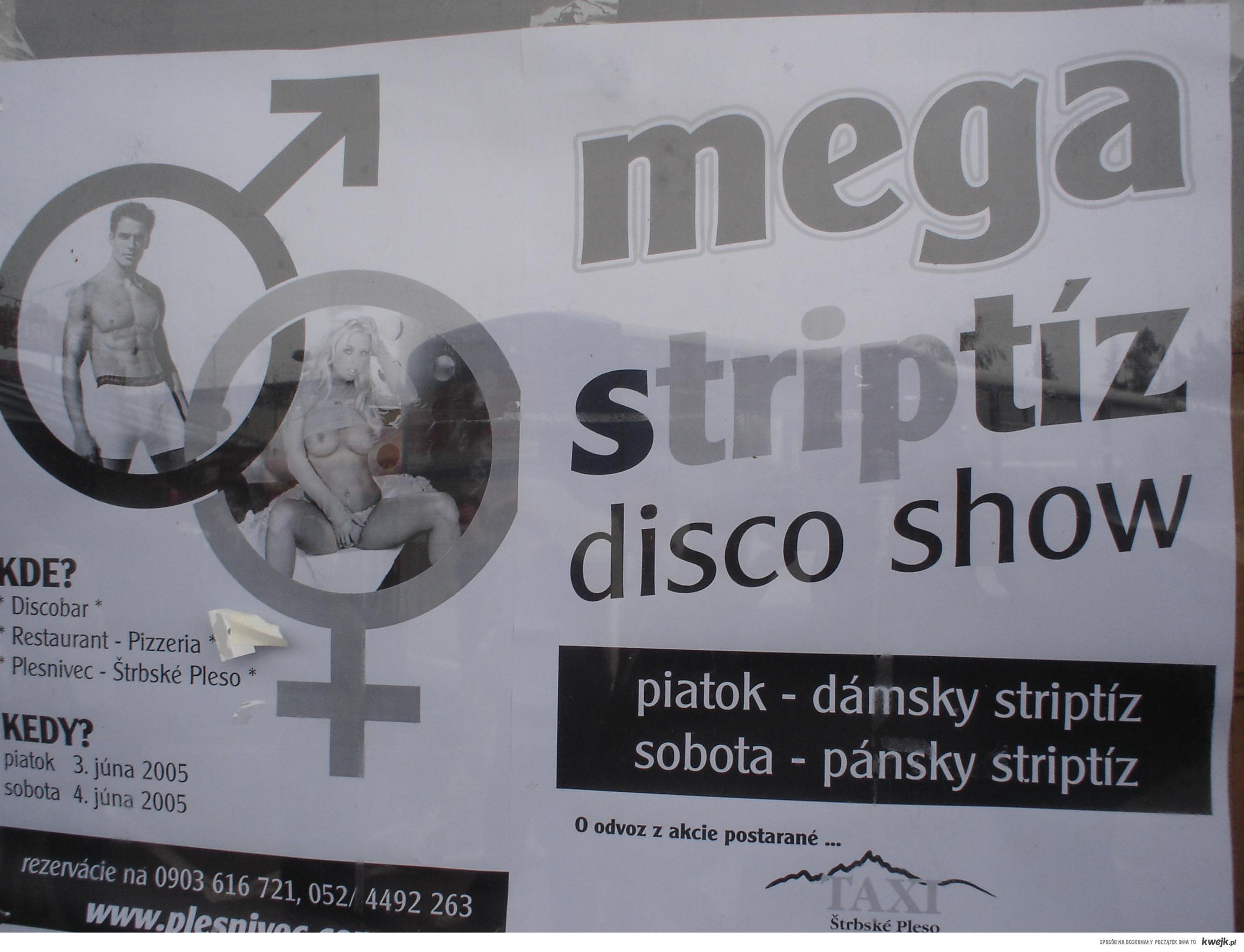 Pański striptiz?