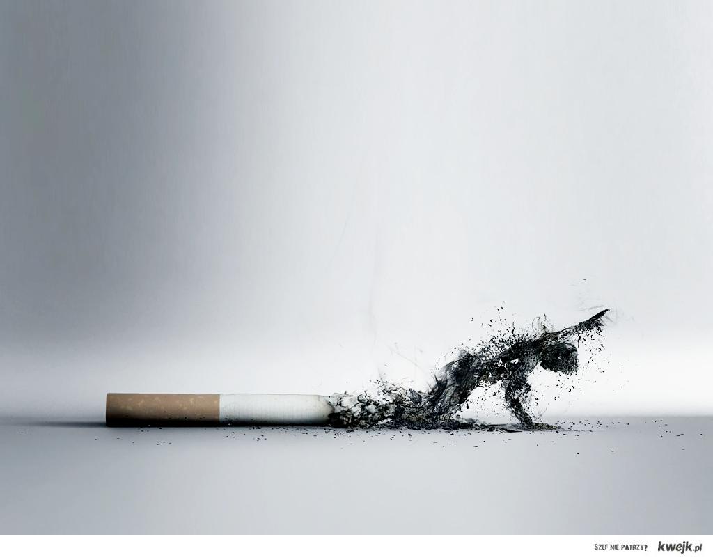you smoke you lose