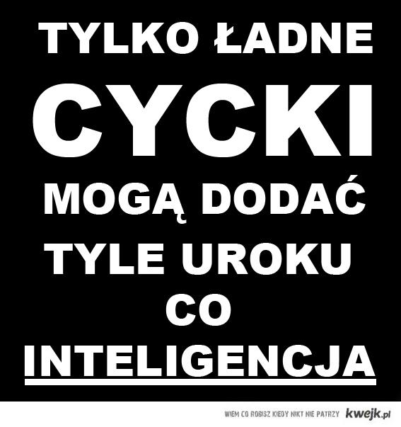 Cycki czy inteligencja?