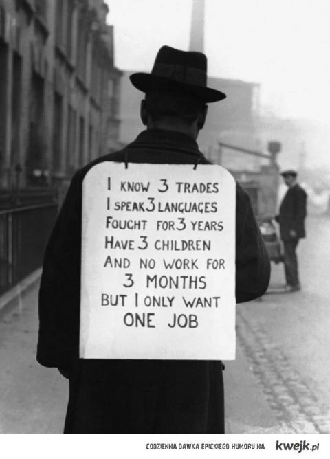Szukam pracy