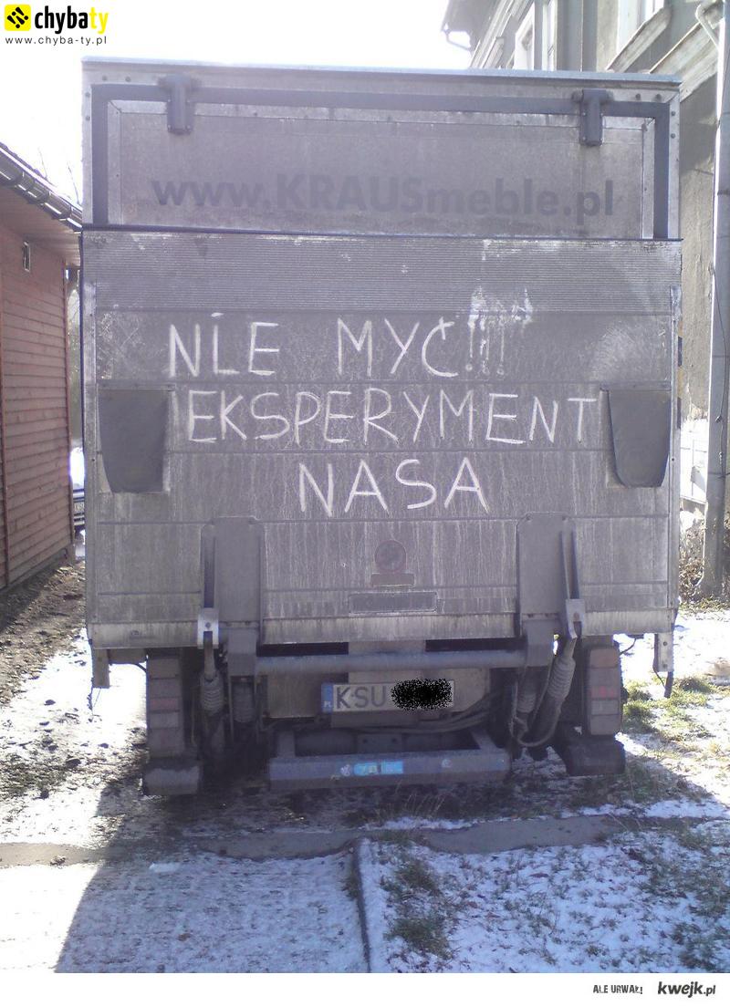 Eksperyment NASA