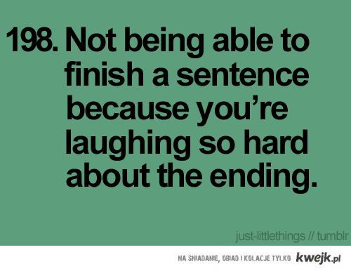 Laugh so hard