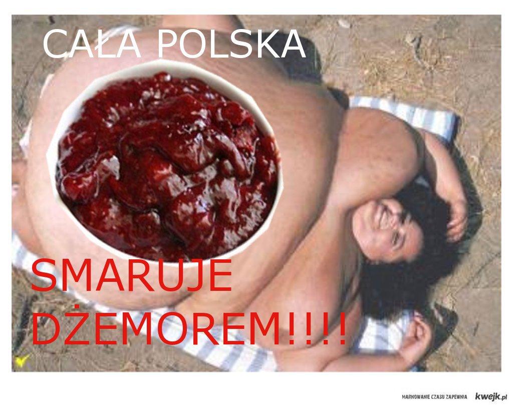 Cała Polska smaruje dżemorem!
