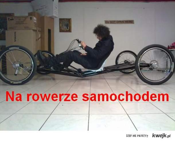 Na rowerze samochodem