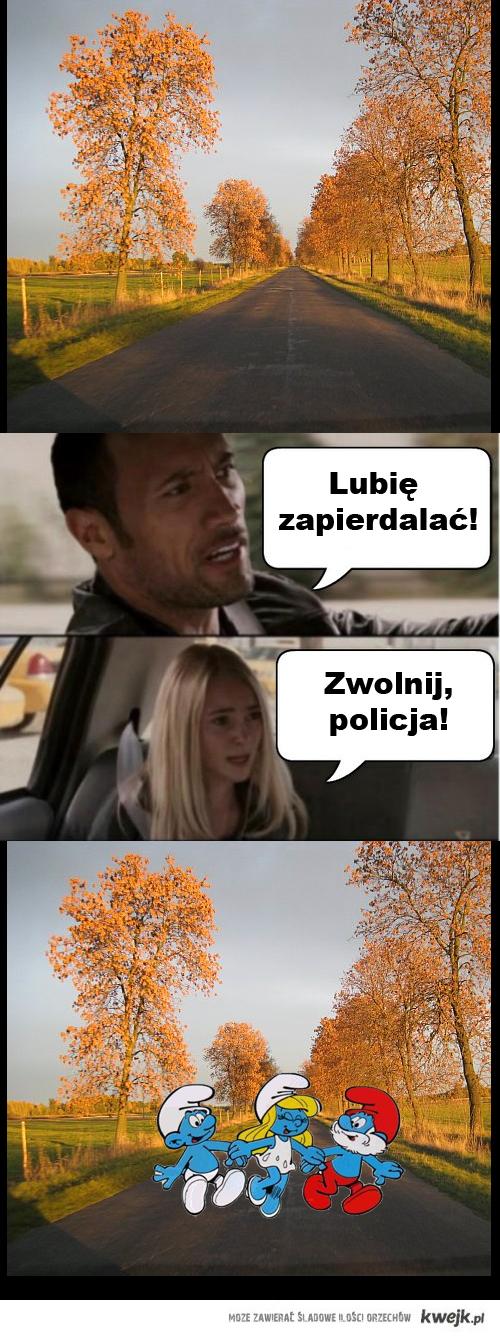 Zwolnij, Policja!